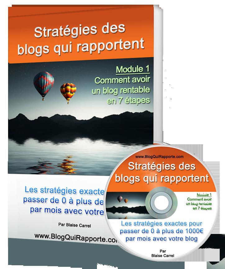 Stratégies des Blogs Qui Rapportent